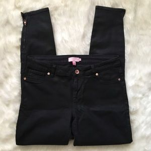 Ted Baker Coated Jeans w Rose Gold Detailing